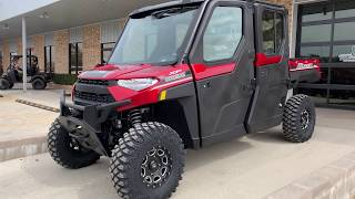 7. 2019 Polaris Ranger Crew XP 1000 EPS Northstar HVAC Edition