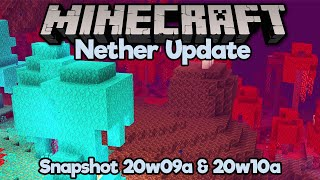 Nether Update: Ambient Sounds, New Blocks & New Mechanics! • Minecraft 1.16 Snapshot 20w09a & 20w10a