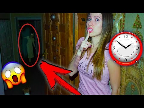 ТУТ ЖИВЕТ ПРИЗРАК ТРЕТЬЯ НОЧЬ В ДОМЕ МИСТИКА | Дом Призрак #7 Elli Di (видео)