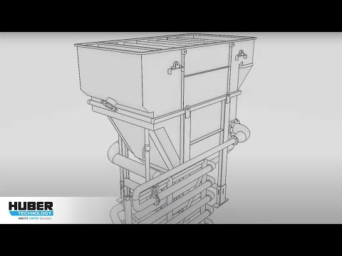 Animation: HUBER Dissolved Air Flotation Plant HDF