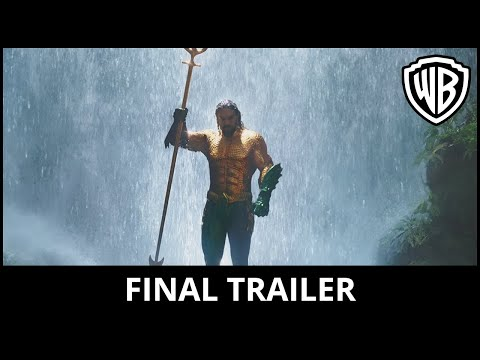 Preview Trailer Aquaman, trailer finale italiano del film con Jason Momoa