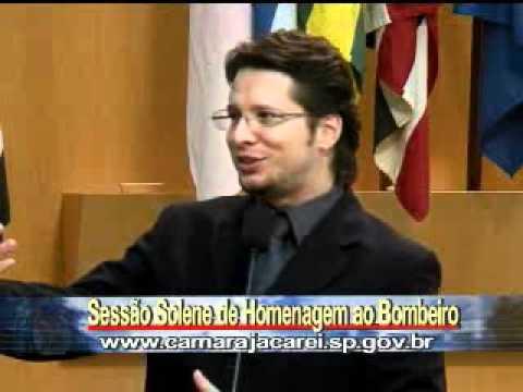 Marcelo Quintela fala em Jacareí  Sobre a ida para Africa de Edmilson Neto 02.wmv