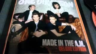 Unboxing One Direction - Made In The AM ( Deluxe Edition )