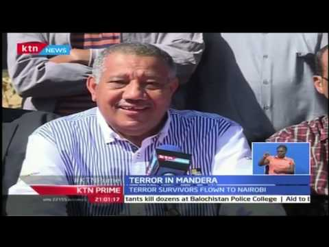 KTN Prime: Twelve killed in fresh dawn attack in Mandera, 25th October 2016