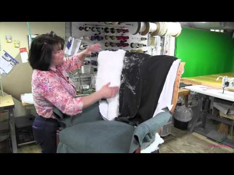 Channel Back Chair Upholstery Part 4