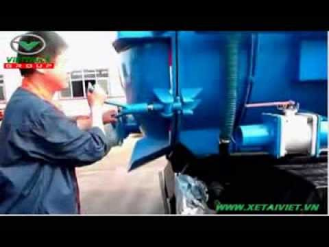 Hướng dẫn sử dụng, vận hành xe hút chất thải, hút bùn