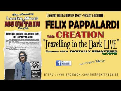 Felix Pappalardi (from CREAM & Leslie West & Mountain ) with CREATION LIVE!! (видео)