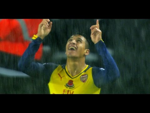 Alexis Sanchez | All Goals Season 2014-15 | Part 1 | English Commentary [HD]