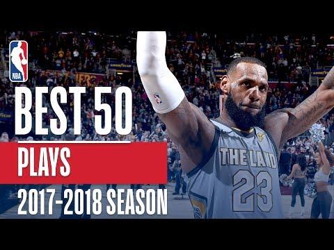 Best 50 Plays of the 2018 NBA Regular Season (видео)