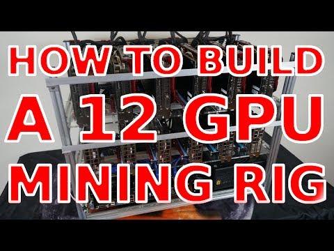 How to Build a 12 GPU Mining Rig (AMD+NVIDIA): SUPoX/Biostar TB250-PRO-BTC rx580 p106 Ethereum Zcash
