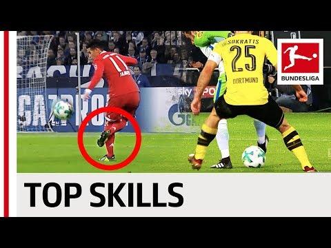 James, Pulisic, Ribery & Co. - Best Skills of 2017/18 (видео)