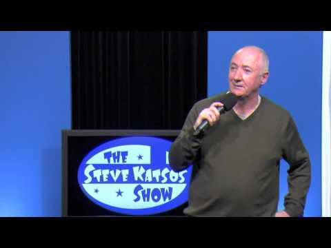 Jimmy PJ Walsh does stand-up comedy on The Steve Katsos Show
