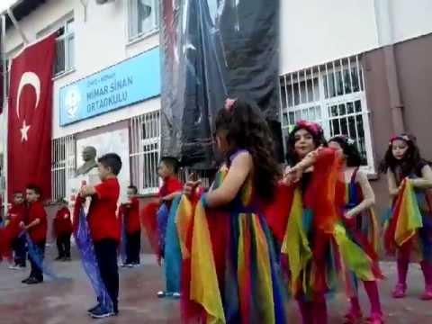 Mimar Sinan İlkokulu Öznur Kibar 23 Nisan 2013 1.Bölüm Yatcaz Kalkcaz