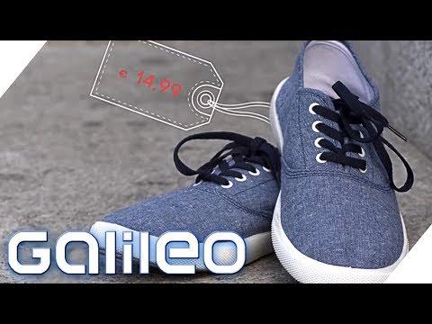 Wie gut sind billige Schuhe?   Galileo   ProSieben