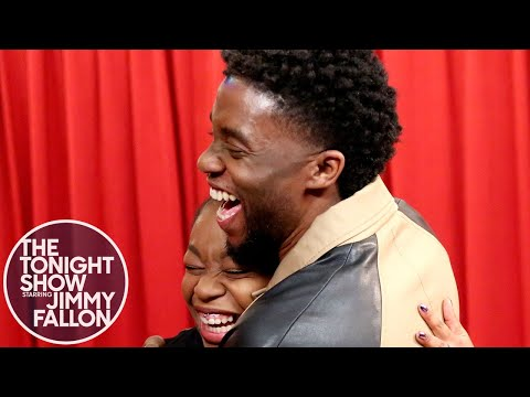 0 - Watch Chadwick Boseman Shock The Wakanda Out Of Black Panther Followers!