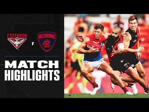 Essendon v Melbourne Highlights | Round 18, 2020 | AFL