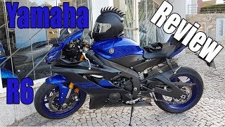 8. Yamaha R6 (2019) Review and Testride