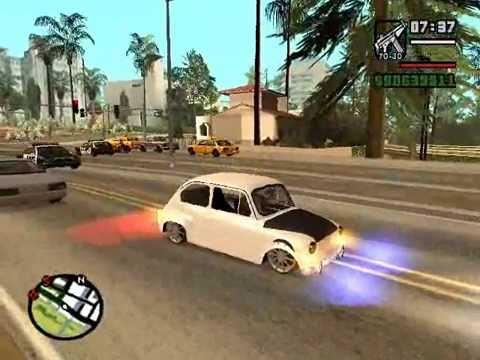Gta Sa Fiat 600 Al Piso (JUNIO 2014) + LINK DE DESCARGAR - Gta San Andreas #1