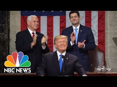 President Donald Trump's State Of The Union Address 2018 (Full) | NBC News (видео)