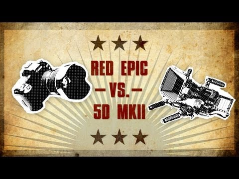 RED Epic - Ever wonder if a HDSLR can match up against a Red cam? So did we, and so we did something about it! Today Ryan puts his 5D against the Red Epic to see how cl...