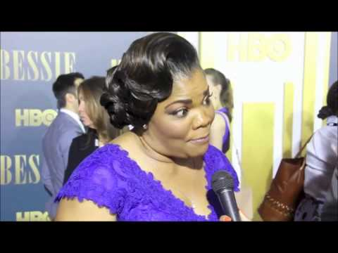 Queen Latifah, Mo'Nique And More At Bessie Red Carpet Premiere-Interviews
