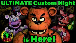 FNAF Ultimate Custom Night - All My Friends Are HERE!! (FNAF 6)