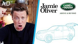 I Designed My Own Kitchen Car!!! | Jamie Oliver & Land Rover Part 1 | AD by Jamie Oliver