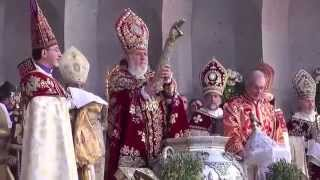 Blessing of the Holy Muron in the Mother See of Holy Etchmiadzin