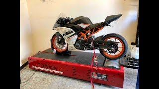 5. KTM RC390 Exhaust and dyno!