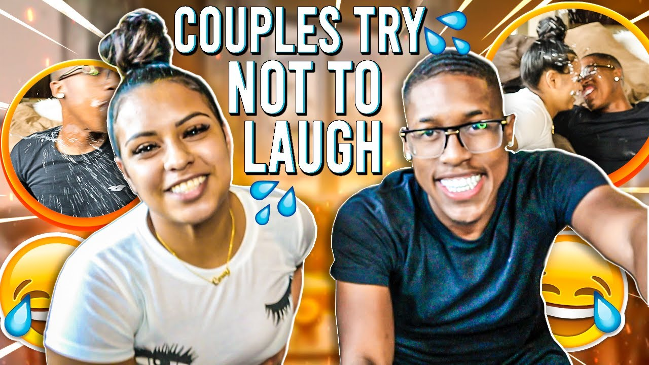 COUPLES TRY NOT TO LAUGH | WATER EDITION | HILARIOUS - YouTube