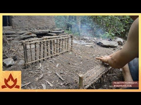 Primitive Technology--Woven Bark Fiber