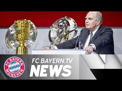 Bayern München: Jahreshauptversammlung 2016, Hoeneß wieder Präsident