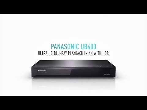 Review : Panasonic DMP-UB400 4K PRO Ultra HD Blu-ray Player โดย อ.วิจิตร บุญชู