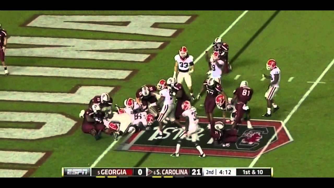 Jarvis Jones vs South Carolina (2012)