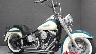 7. 2009  HARLEY DAVIDSON  FLSTN SOFTAIL DELUXE  - National Powersports Distributors
