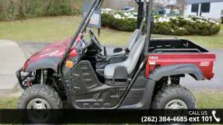3. 2009 Yamaha Rhino 700 FI Auto 4x4 Sport Edition  - Action...
