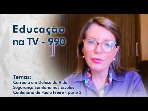 Carreata em defesa da Vida | Segurança Sanitária nas Escolas | Centenário de Paulo Freire - parte 3