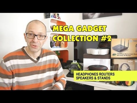 davomrmac - Mega Gadget Collection #2 Headphones Routers Speakers & Stands ... another amazing collection of tech came in to the Geekanoids Studio this week, sit back & ...
