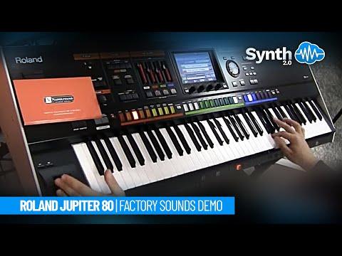roland - http://www.leadsounds.com/Roland-Jupiter-80 jupiter 80 roland performance synth demo by S4K - presso Napolitano Strumenti Musicali Si ringrazia Napolitano St...