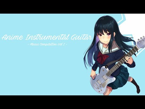 Anime Instrumental Electric, Acoustic & Metal Guitar + CROW'SCLAW – Vol I