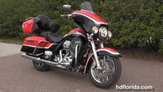 10. Used 2012 Harley Davidson CVO Ultra Classic Electra Glide Motorcycle for sale