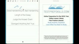 Free #GED ®Test Prep: Essay Skills