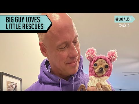 Bodybuilder Opens Sanctuary For Neglected Chihuahuas