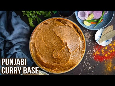 How to Make Punjabi Curry Base | All Purpose Gravy | Punjabi Gravy Recipe | Ruchi