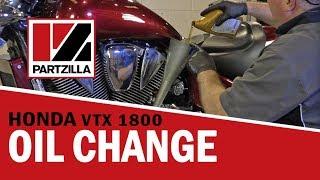 9. 2005 Honda VTX 1800 Oil Change | Partzilla.com