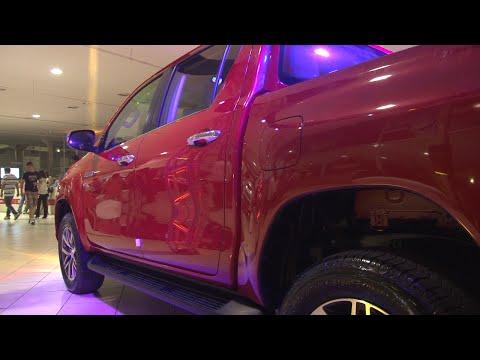 Toyota Hilux é apresentada em concessionária de São Bernardo