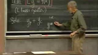 Lec 12 | MIT 18.03 Differential Equations, Spring 2006