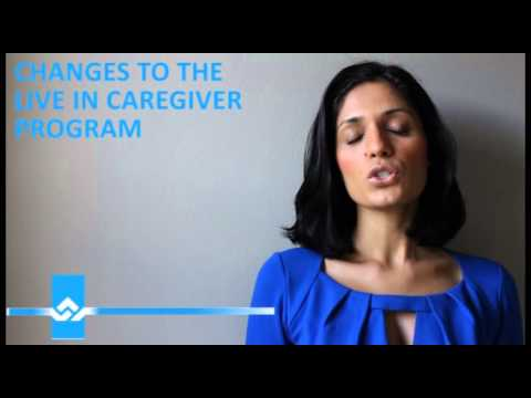 Changes to Live in Caregiver Program Video