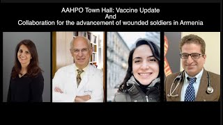 AAHPO: Vaccine update and collaboration for the health advancement of wounded soldiers in Armenia
