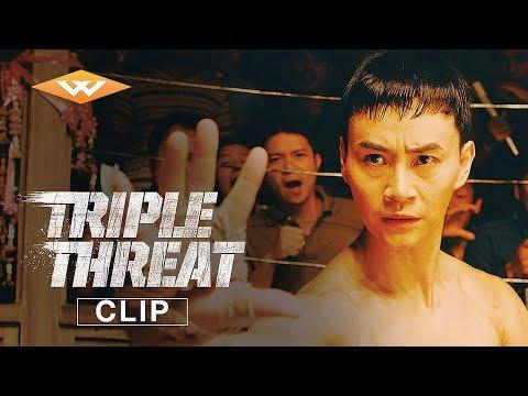 TRIPLE THREAT (2019) Clip   Underground Fight   Iko Uwais, Tiger Chen